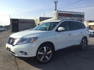 Used 2013 Nissan Pathfinder PLATINUM 4WD - DVD - NAVI - DOUBLE SUNROOF for sale in Oakville, ON