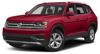 New 2018 Volkswagen ATLAS 3.6 FSI Execline Memory Seat, Radio Data System, Leather Upholstery & Heated Front Seats for sale in Surrey, BC