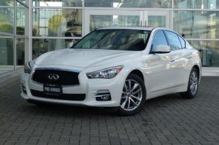 Used 2015 Infiniti Q50 AWD **Navi** for sale in Vancouver, BC