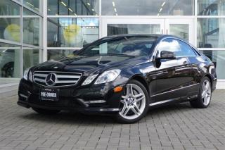 Used 2012 Mercedes-Benz E550 Coupe for sale in Vancouver, BC