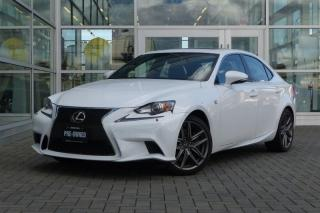 Used 2014 Lexus IS 350 AWD 6A F-Sport for sale in Vancouver, BC