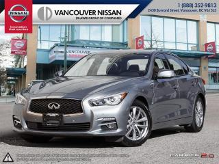 Used 2014 Infiniti Q50 AWD Premium Local! No accidents! BOSE Stereo! Navigation! for sale in Surrey, BC