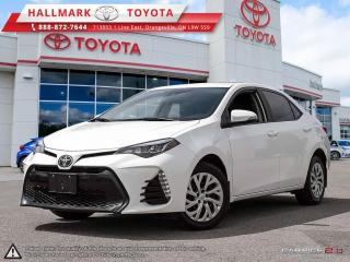 Used 2017 Toyota Corolla 4-door Sedan SE 6M SAVE SAVE SAVE OFF OF NEW CAR PRICE, BLUE TOOTH AND MORE for sale in Mono, ON