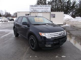 Used 2010 Ford Edge AWD SEL for sale in Elmvale, ON