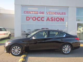 Used 2015 Infiniti Q50 Navigation AWD for sale in Montréal, QC