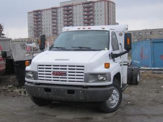Used 2007 GMC C5500 cab and chassis 18 ft 6.6 duramax low pro for sale in North York, ON