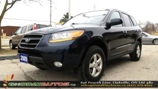 Used 2009 Hyundai Santa Fe GLS|NO ACCIDENT|LEATHER|ALLOYS|SUNROOF|CERTIFIED for sale in Oakville, ON