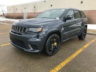 New 2018 Jeep Grand Cherokee Trackhawk 4x4 for sale in Edmonton, AB