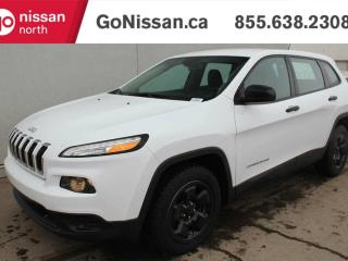 Used 2015 Jeep Cherokee SPORT: AUTO, AIR, CRUISE!! for sale in Edmonton, AB