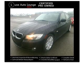 Used 2011 BMW 3 Series 323i - FRESH TRADE-IN! AUTO, SUNROOF, HEATED SEATS for sale in Orleans, ON