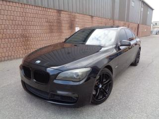 Used 2011 BMW 750i xDrive-M SPORT-NAVI-360 CAMERAS-HEADS UP DISPLAY for sale in Etobicoke, ON