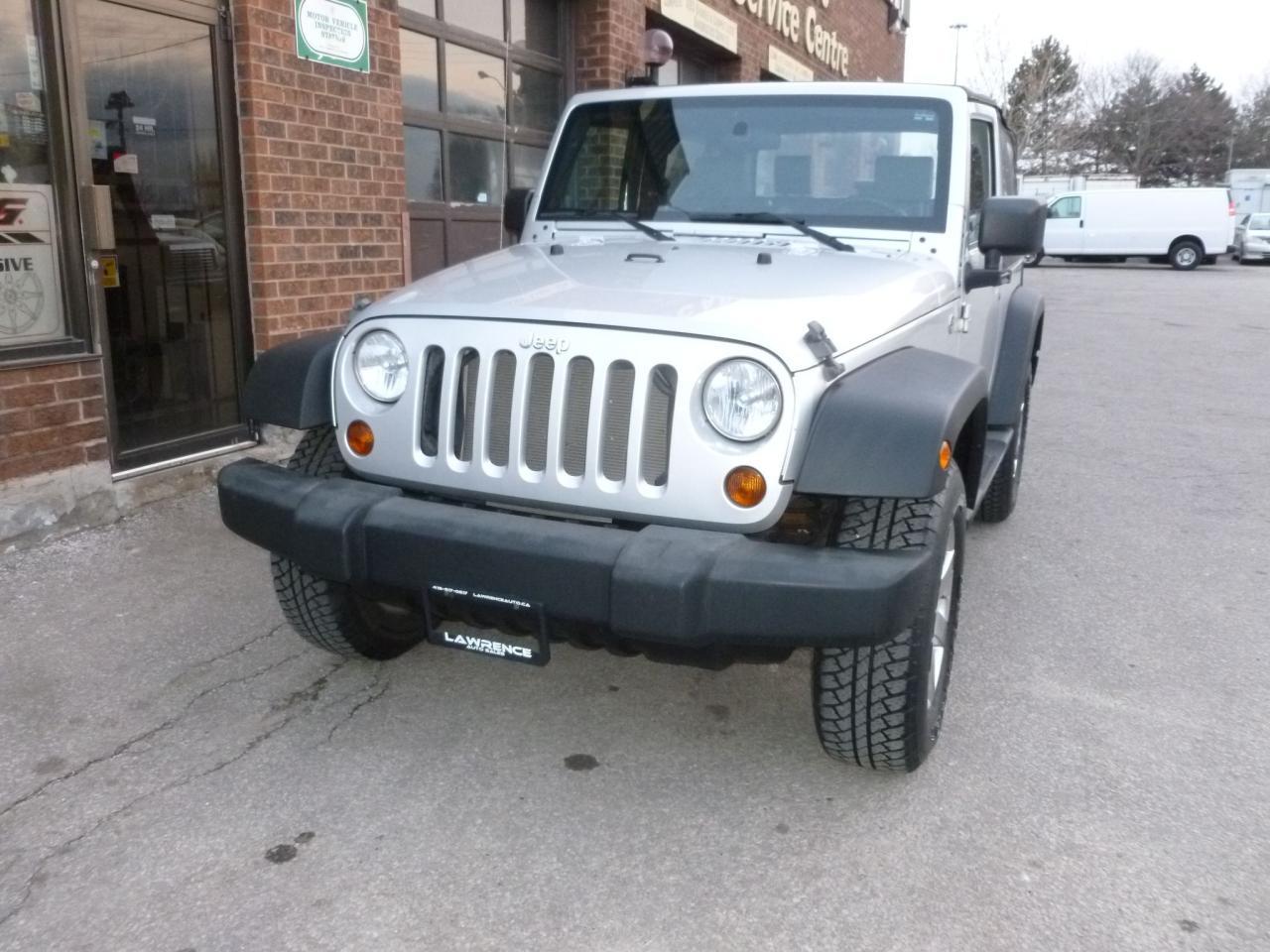 Photo of Silver 2008 Jeep Wrangler