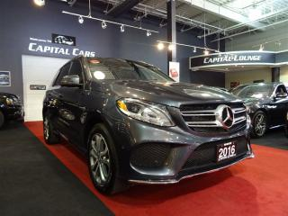 Used 2016 Mercedes-Benz GLE-Class GLE400 4MATIC / NAVIGATION / REAR ENTERTAINMENT for sale in North York, ON