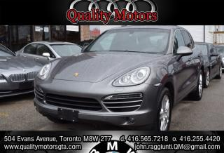 Used 2013 Porsche Cayenne NAVIGATION PANORAMIC ROOF for sale in Etobicoke, ON