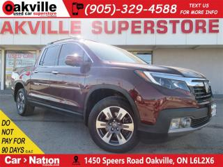Used 2018 Honda Ridgeline Touring | LEATHER | NAV | B/UCAM | SUNROOF for sale in Oakville, ON