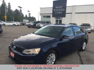 Used 2014 Volkswagen Jetta Comfortline | SUNROOF | ALLOYS | NO ACCIDENTS for sale in Kitchener, ON