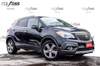 Used 2014 Buick Encore Leather Sunroof Blind Zone Cross Traffic Alert for sale in Thornhill, ON