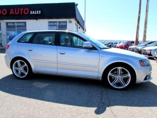Used 2009 Audi A3 3.2 QUATTRO S-LINE NAVIGATION CERTIFIED 2YR WARRANTY for sale in Milton, ON