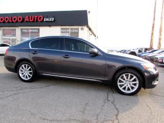 Used 2007 Lexus GS GS 350 AWD ULTRA PREMIUM NAVIGATION CAMERA CERTIFIED 2YR for sale in Milton, ON