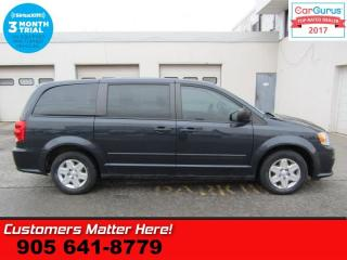 Used 2013 Dodge Grand Caravan SE/SXT  NEW TIRES REAR STOW MIDDLE BENCH POWER GROUP for sale in St Catharines, ON