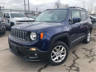 Used 2016 Jeep Renegade North 4x4 NAVIGATION for sale in St Catharines, ON
