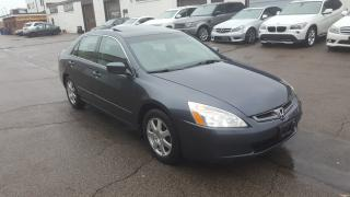Used 2005 Honda Accord Sdn EX V6 for sale in Burlington, ON