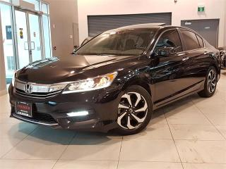 Used 2016 Honda Accord Sedan EX-L-AUTO-LEATHER-SUNROOF-CAMERA-LOADED-ONLY 82KM for sale in York, ON
