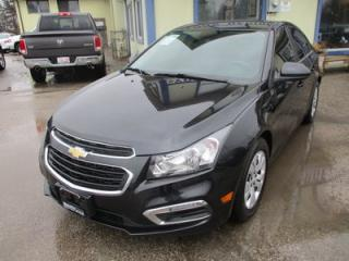 Used 2016 Chevrolet Cruze WELL EQUIPPED 1-LT MODEL 5 PASSENGER 1.4L - TURBO.. TOUCH SCREEN.. CD/AUX/USB INPUT.. BLUETOOTH.. KEYLESS ENTRY.. for sale in Bradford, ON