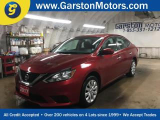 Used 2017 Nissan Sentra SV*PHONE CONNECT*BACK UP CAMERA*HEATED FRONT SEATS*CRUISE*CLIMATE*PUSH BUTTON IGNITION* for sale in Cambridge, ON