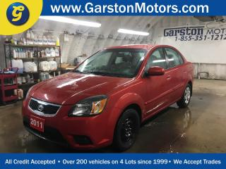 Used 2011 Kia Rio EX Convenience*PHONE CONNECT*HEATED FRONT SEATS*KEYLESS ENTRY*CLIMATE CONTROL*CRUISE CONTROL* for sale in Cambridge, ON