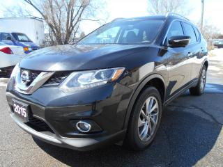 Used 2015 Nissan Rogue SL AWD/LEATHER/NAVIGATION/PANORAMIC ROOF for sale in Guelph, ON