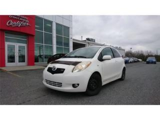 Used 2007 Toyota Yaris for sale in Victoriaville, QC