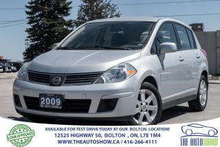 Used 2009 Nissan Versa 1.8 S AUTO CERTIFIED for sale in Caledon, ON
