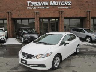 Used 2013 Honda Civic LX | HEATED SEATS | BACK UP CAMERA | NO ACCIDENT for sale in Mississauga, ON