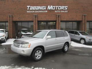Used 2003 Toyota Highlander 4WD | NO ACCIDENTS | V6 | BLUETOOTH for sale in Mississauga, ON