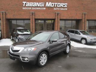 Used 2010 Acura RDX TECH | NAVIGATION | LEATHER | SUNROOF | CAMERA for sale in Mississauga, ON