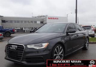 Used 2012 Audi A6 3.0 Premium Plus NAVI LEATHER SUNROOF for sale in Scarborough, ON