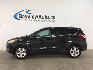 Used 2014 Ford Escape SE - 4WD! ECOBOOST! PANOROOF! HTD LEATHER! NAV! SYNC! for sale in Belleville, ON