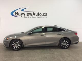 Used 2017 Chevrolet Malibu 1LT - TURBO! REM START! ROOF! PUSH BTN START! HTD LTHR! NAV! BOSE! WIFI! for sale in Belleville, ON