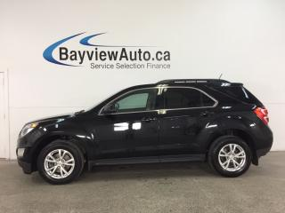 Used 2017 Chevrolet Equinox LT - REM START! SUNROOF! HTD SEATS! NAV! MY LINK! PIONEER! WIFI! PWR LIFTGATE! for sale in Belleville, ON