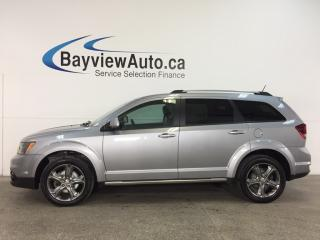 Used 2017 Dodge Journey Crossroad - REM START! SUNROOF! HTD LEATHER! DVD! NAV! ALPINE! for sale in Belleville, ON