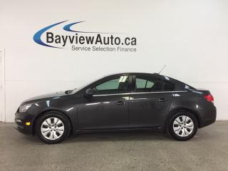 Used 2016 Chevrolet Cruze - TURBO! REM START! A/C! MY LINK! REVERSE CAM! for sale in Belleville, ON
