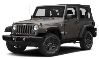 New 2018 Jeep Wrangler JK Sport for sale in Surrey, BC