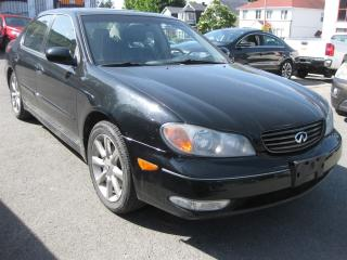 Used 2003 Infiniti I35 FWD Auto AC Sunroof Htd leather  LOADED for sale in Ottawa, ON