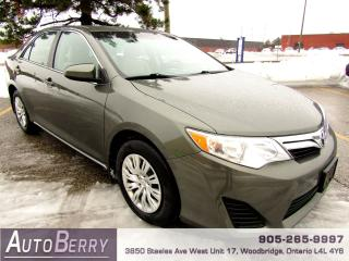Used 2013 Toyota Camry LE - 2.5L for sale in Woodbridge, ON
