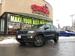 Used 2017 Jeep Grand Cherokee Trailhawk P-ROOF H-TED SEATS TOW PKG NAVI for sale in Scarborough, ON
