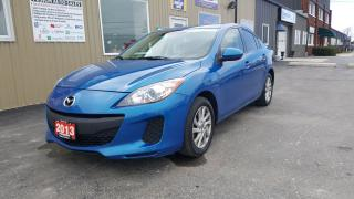 Used 2013 Mazda MAZDA3 GS-SKY-SUNROOF-HEATED SEATS-1 OWNER OFF LEASE for sale in Tilbury, ON