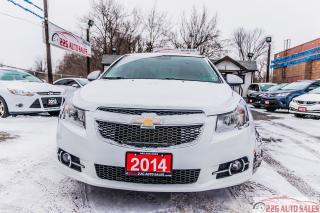 Used 2014 Chevrolet Cruze 2LT for sale in Brampton, ON