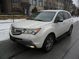 Used 2008 Acura MDX TECH PKG, NAVI, 7 PASS, CAMERA,DVD,NO ACCIDENTS for sale in Etobicoke, ON