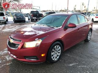 Used 2011 Chevrolet Cruze LT Turbo w/1SA/ONE OWNER/CERTIFIED/WARRANTY INCL for sale in Cambridge, ON